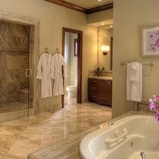 Contemporary Bathroom by Macaluso Designs, Inc.