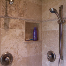 Traditional Bathroom by Artisan Stone & Tile