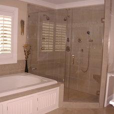 Traditional Bathroom by Guthmann Construction