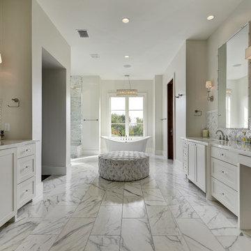 Master Baths - Transitional