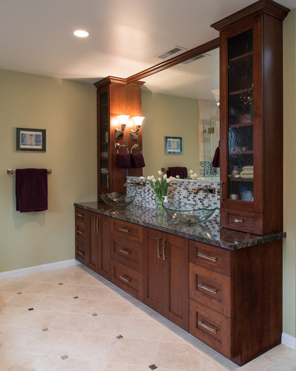 Traditional Bathroom Vanities And Sink Consoles by S.E.A. Construction Inc.