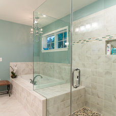 Traditional Bathroom by Norman L Graham Inc