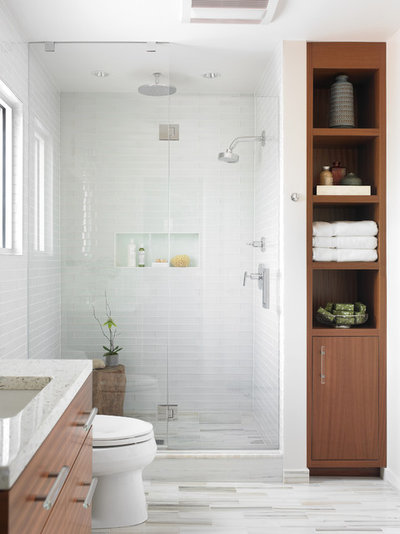 Modern Bathroom by Beth Kooby Design