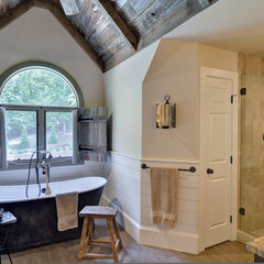 eclectic bathroom by Weidmann Remodeling