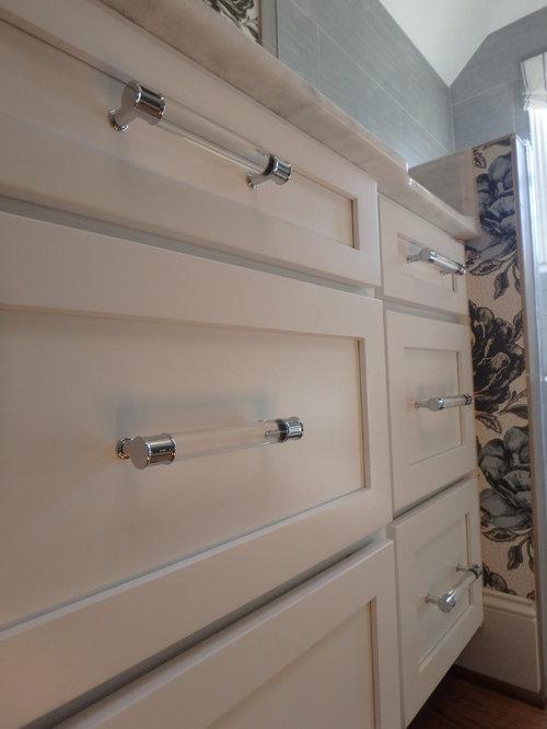 Great Lucite Cabinet Pulls
