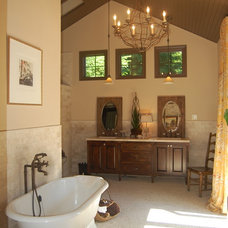 Traditional Bathroom by Right Arm Construction