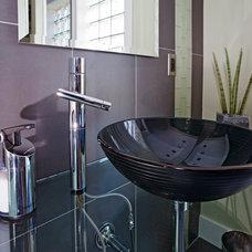 Contemporary Bathroom by Bricon Contracting