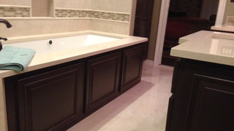 Master Bedroom enSuite in Chocolate