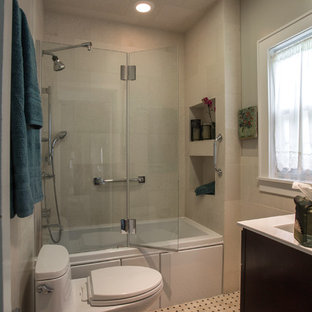 Master compact bathroom-spa features