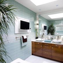 Creating a spa bath