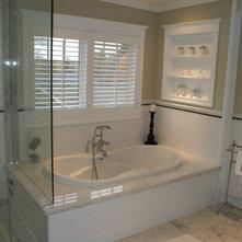 Traditional Bathroom by Karyn Miller Design