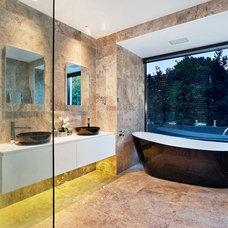Contemporary Bathroom by Sourcery Design