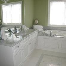 Traditional Bathroom by Chic Decor