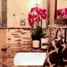 Contemporary Bathroom by Mackenzie Austin Design