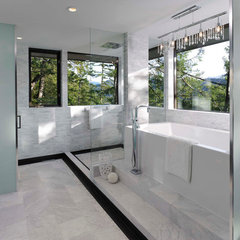 modern bathroom by My House Design Build Team