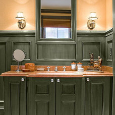 Traditional Bathroom by Jo Cook Interior Design