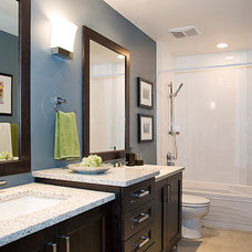 Contemporary Bathroom by Within Licensed Interior Design Inc.