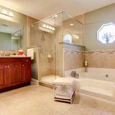 Traditional Bathroom by JANSEN QUALITY CONSTRUCTION