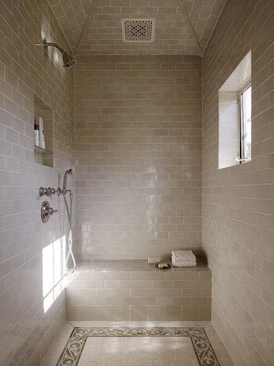 duschbank - 12 tolle designs für die dusche mit sitzbank, Garten und Bauten