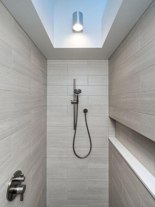Salles de bains et wc scandinaves avec des portes de for Porte de placard salle de bain
