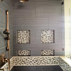 Contemporary Bathroom by Denise Glenn Interior Design
