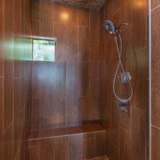 Beach Style Bathroom by Jenkins Custom Homes