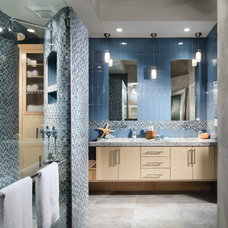 contemporary bathroom by Decorating Den Interiors