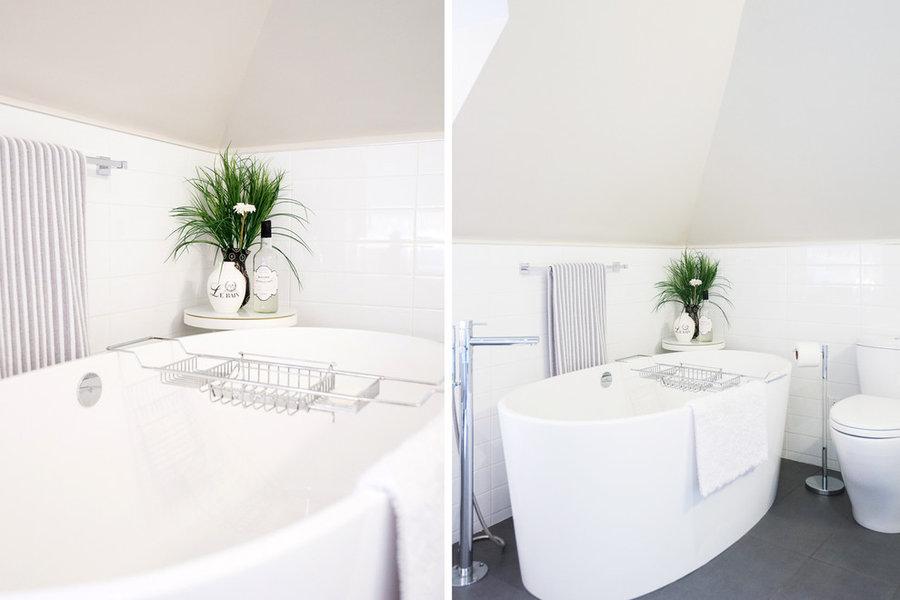 Master spa like bathroom