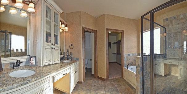 Traditional Bathroom by Silver Stone Homes LLC