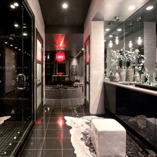 Contemporary Bathroom by Lifespan Construction