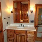 Oklahoma Ranch Project Traditional Bathroom Oklahoma City By B Shaw Design
