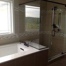 Traditional Bathroom Master suite addition