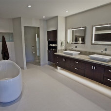 Contemporary Bathroom by Anna Teeples Designs