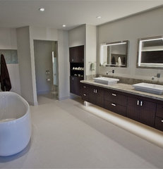 modern bathroom by Anna Teeples Designs