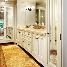Transitional Bathroom by Springfield Design