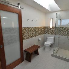 Contemporary Bathroom by Ventana Construction LLC