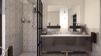 Master Suite Bedroom 3D Interior Design
