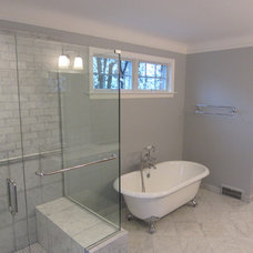 Traditional Bathroom by Rochman Design-Build Inc.
