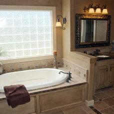 Traditional Bathroom by Craig Sharp Homes