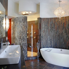 Contemporary Bathroom by Greater Dayton Building & Remodeling