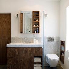 Modern Bathroom by Angela Dechard Design