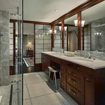 Master suite in Villanova, PA