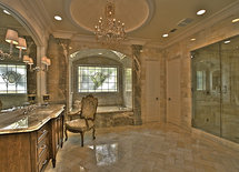 What is the size of the shower?
