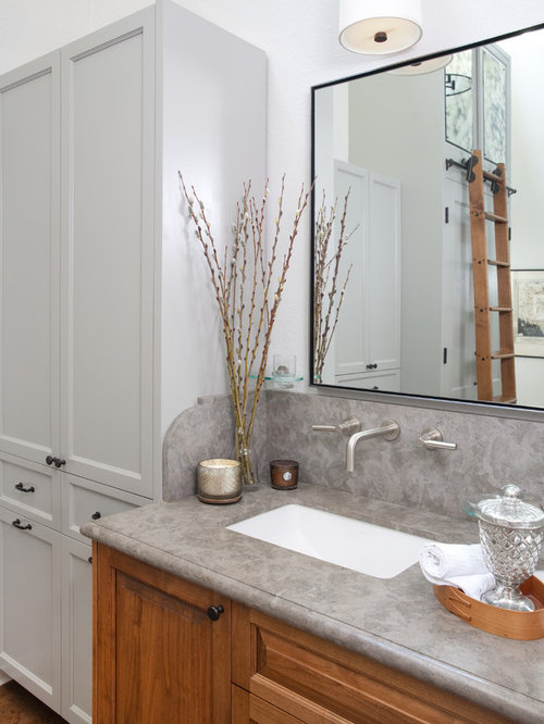 Countertop Linen Cabinet : Countertop Linen Cabinet Home Design Ideas, Pictures, Remodel and ...
