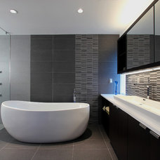 Contemporary Bathroom by clad