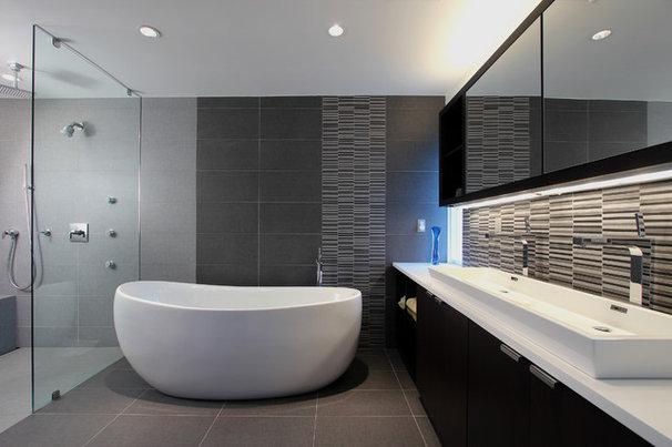 Contemporary Bathroom by clad