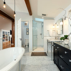 Eclectic Bathroom by Four Brothers LLC