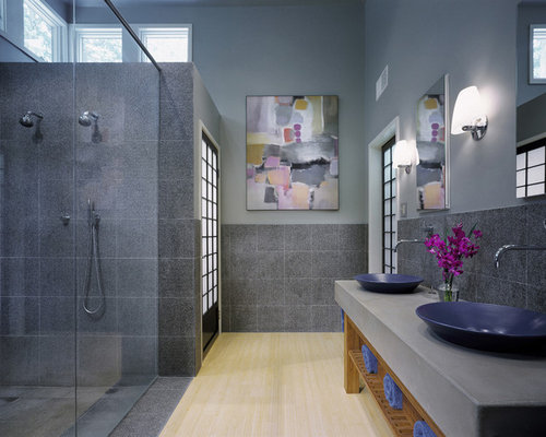 Grey Blue Bathroom Photos. Best Grey Blue Bathroom Design Ideas   Remodel Pictures   Houzz