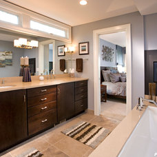Contemporary Bathroom by Purcell Quality, Inc.