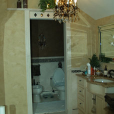 Mediterranean Bathroom by Falk Designs, LLC